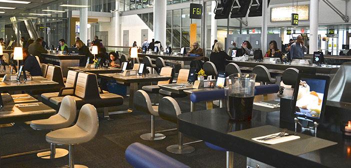 Restaurantes y aeropuertos