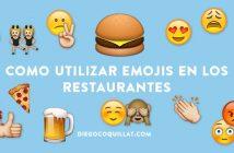 5 ejemplos muy divertidos de cómo utilizar Emojis en los restaurantes