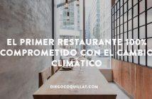 Abren el primer restaurante 100% comprometido con el cambio climático