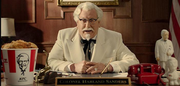 El Coronel Sanders, quien volvió del más allá en forma de anuncio publicitario para darle un empujón y colocarla en el lugar que merece.