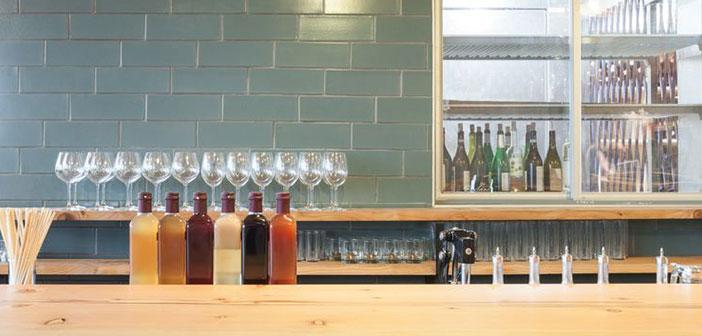 Además de restaurante, este local de San Francisco también cuenta con un reservado que hace las veces de bar.