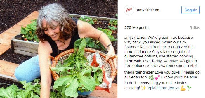 Amy's Kitchen ha puesto la solución al problema con el sistema más sencillo que podamos imaginar: un establecimiento de comida rápida ecológica con servicio de pedido para llevar desde el coche.