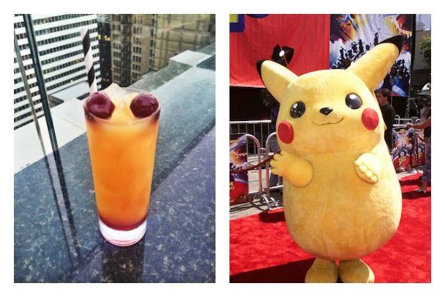 Copa inspirada en Pikachu