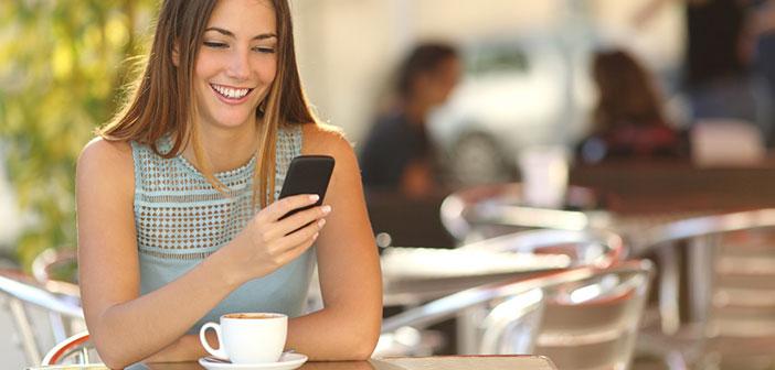 Los restaurantes son uno de los lugares donde la penetración de los smartphones mejor se puede comprobar.