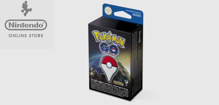 Pokémon Go Plus, un dispositivo que se conecta al smartphone a través de Bluetooth y, mediante un LED y vibraciones, notifica al jugador acontecimientos del juego, como, por ejemplo, la aparición de un Pokémon en las proximidades.