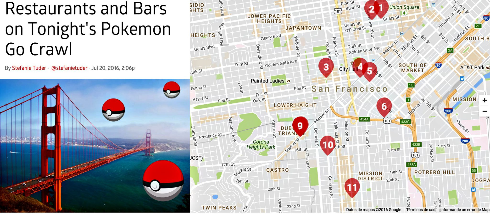 Bares y restaurantes participan en quedadas de Pokemon GO