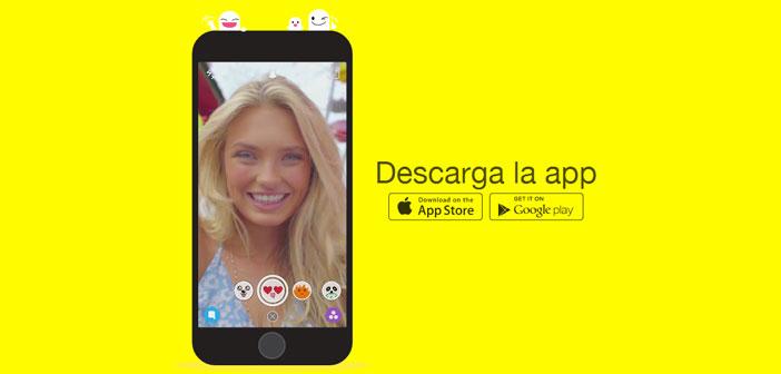 Actualmente Snapchat se ha ubicado en las aplicaciones más descargadas a nivel mundial junto a Facebook, Whatsapp, Twitter, YouTube entre otras.