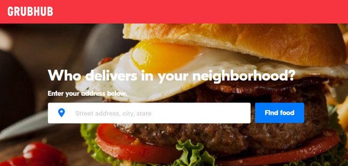GrubHub es uno de los grandes líderes que los restaurantes de EEUU utilizan para gestionar los pedidos que hacen desde los móviles de sus clientes.