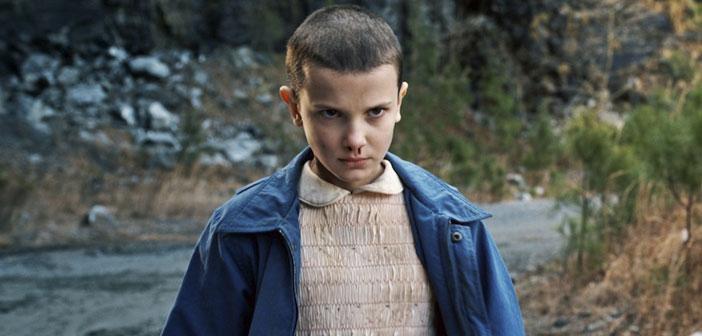 Eleven, la niña de la serie 'Stranger Things' el éxito de la temporada de Netflix será uno de los disfraces más virales de este año en Halloween.