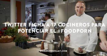 Twitter ficha a 17 cocineros para potenciar el #FoodPorn