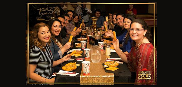 Pizza Hut invitó a Foodies influyentes a probar la nueva pizza en una fiesta por todo lo alto.