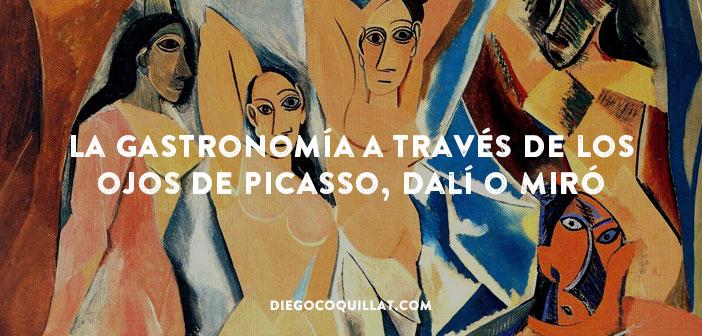 La gastronomía a través de los ojos de Picasso, Dalí o Miró