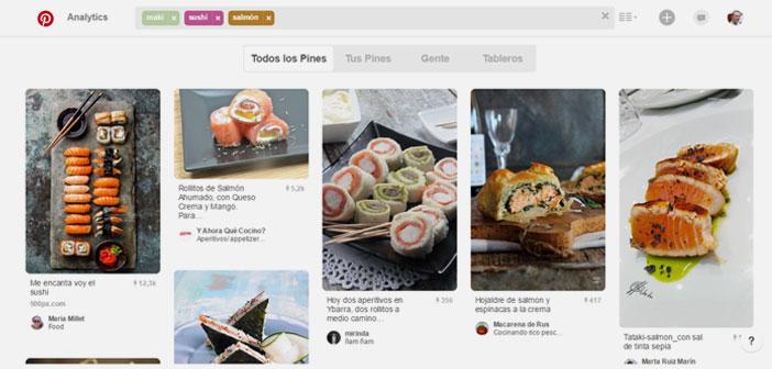 En el momento en que ha encontrado tu Pin serán otras armas las que te harán retenerlo, aunque ese es un tema del que ya hablamos largo y tendido hace meses en Cómo generar contenidos interesantes de restaurantes en Pinterest.