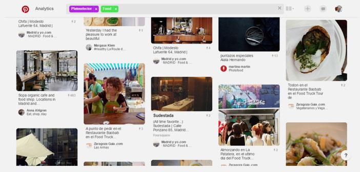 Las opciones para dar visibilidad a tu restaurante son innumerables utilizando un correcto etiquetado en Pinterest