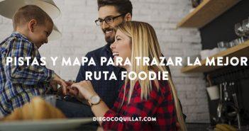 Pistas y Mapa para trazar la mejor ruta Foodie
