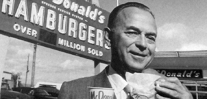 Ray Kroc, fundador de McDonald´s,