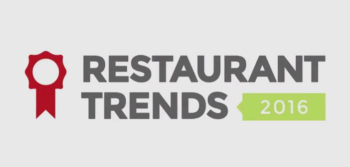 Las 9 ideas más importantes de las que se habló en el Restaurant Trends 2016