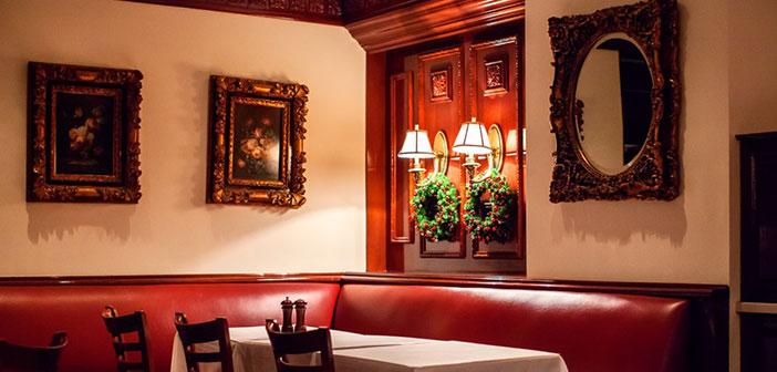 El interior del restaurante Trump Grill.