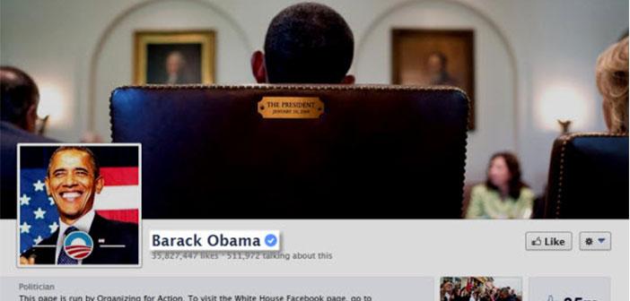 El expresidente Barack Obama, tiene la verificación de página oficial.