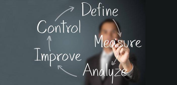 El proceso de trabajo DMAIC esta divido en diferentes fases (Definir, Medir, Analizar, Implementar, Controlar). Definir, y acotar el fallo-defecto-problema es una parte fundamental de proceso de trabajo DMAIC.