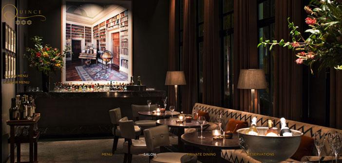 El Quince Restaurant, un restaurante de lujo situado en la ciudad de San Francisco, EEUU ha sorprendido a todos con su última creación: un plato servido sobre un IPad.