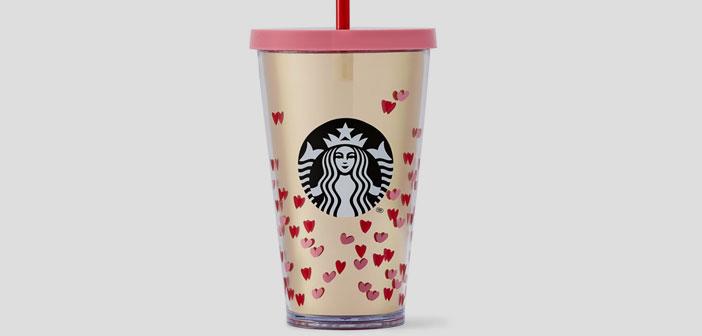 Aprovechando el tirón que tiene la fiesta de Cupido, Starbucks ha lanzado una colección especial con diversas tazas y objetos de merchandising, todos ellos en rosa, rojo, y llenos de los detalles oportunos...¿Por qué no crear un recuerdo diferente para tus clientes?