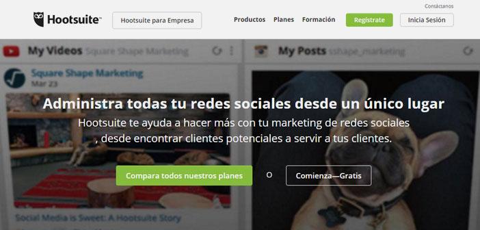 Hootsuite es una aplicación fundamental para la gestión de las Redes Sociales de un restaurante.