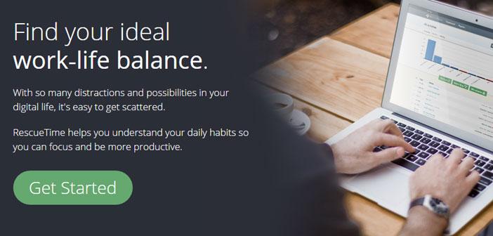 RescueTime nos ayuda a optimizar nuestro tiempo mediante el seguimiento de nuestros hábitos digitales diarios, y ofreciéndonos un diagnóstico para evitar estas pérdidas de tiempo, nos permite establecer nuevas metas de productividad.