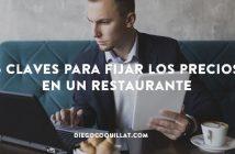 5 claves para fijar los precios en un restaurante
