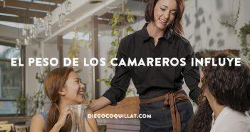 Según un estudio el peso de los camareros influye en lo que pide el cliente de un restaurante