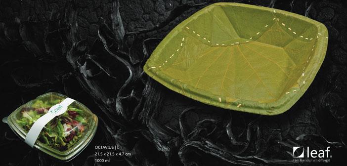 Nuestros compañeros de Leaf Republic solo han adaptado los tapari a la vida moderna. Han diseñado el producto en 3 capas, lo han dotado de mayor estabilidad, han mejorado las propiedades de impermeabilidad y han implementado un diseño atractivo. Todo esto simplemente con hojas y calor. Sin químicos, sin pegamentos. Simplemente brillante.