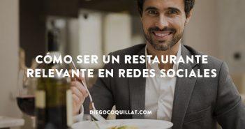 Consejos para mejorar la relevancia de un restaurante en redes sociales
