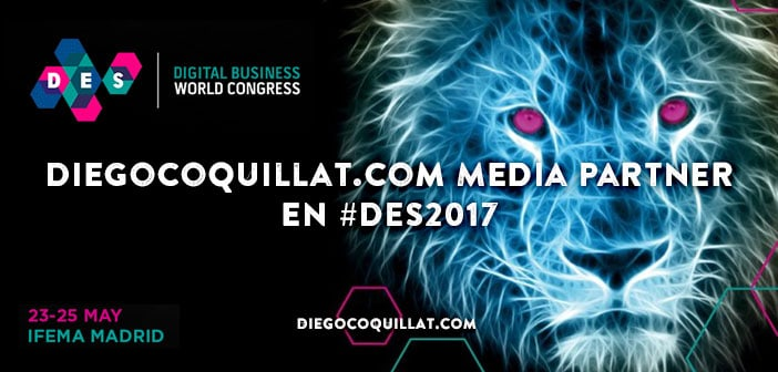 DiegoCoquillat.com elegido como Media Partner en el Digital Business World Congress 2017