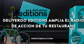 Deliveroo Editions, el nuevo sistema de reparto a domicilio donde los restaurantes no llegan