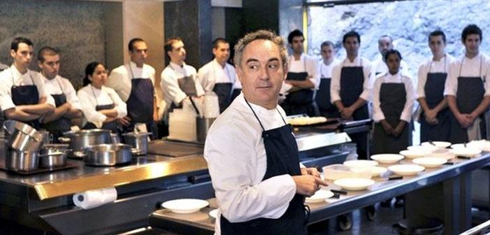 Ferran Adrià, se han interesado en las cualidades de este tipo de alimentación. Sin ir más lejos, El Bulli disponía de un menú especial de 35 platos vegetarianos que acogió, en su momento, muy buenas críticas.