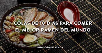 Colas de 10 días para comer el mejor ramen del mundo