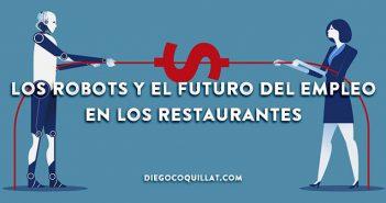 Los robots podrían poner en peligro el futuro del empleo en los restaurantes
