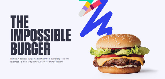 """La ya bautizada como """"hamburguesa imposible"""", el producto estrella de la compañía Impossible Foods, es la primera burger elaborada exclusivamente a base de vegetales que ha conseguido un sabor y un aspecto casi idéntico al de carne."""