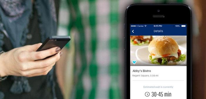 """El sistema """"Nowait"""" permite hacer colas virtuales con tiempos de espera, avisando además a los clientes en el momento en el que su mesa esté lista."""