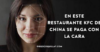 En este restaurante KFC de China se paga con la cara