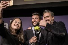 19-Diego Coquillat y los ganadores del restaurante El Pimpi de Málaga