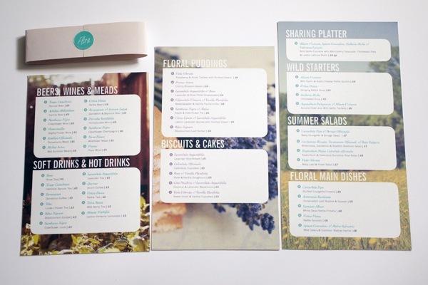 40 diseños de cartas de restaurantes para tu inspiración | diego