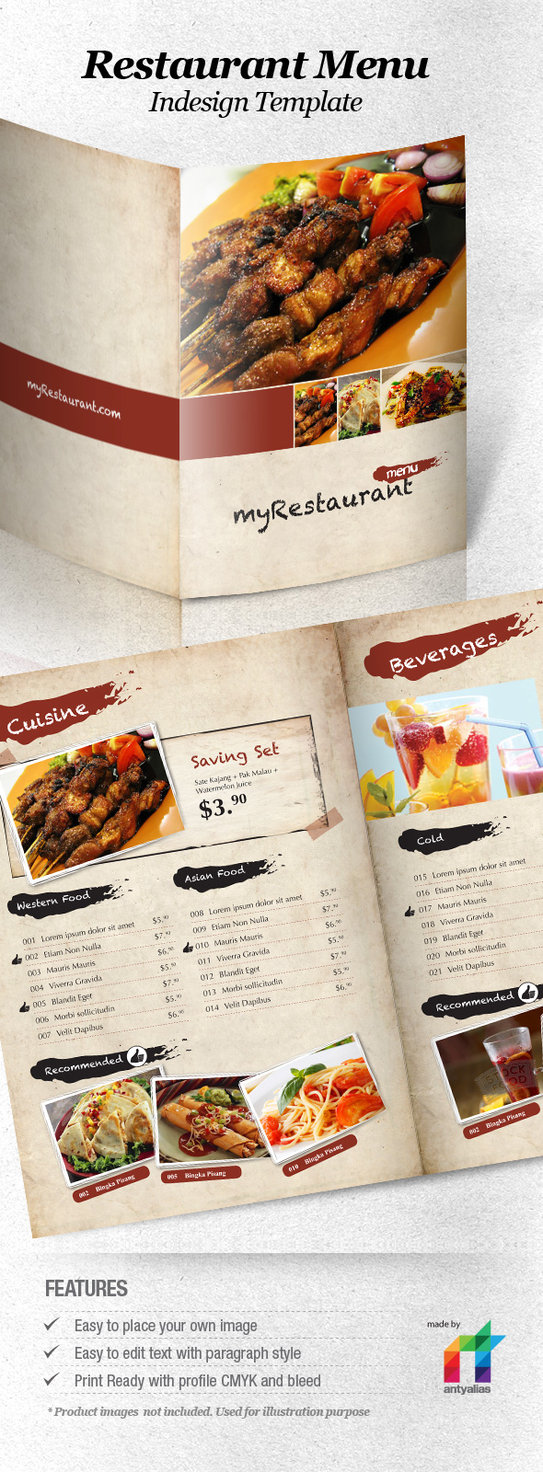 40 diseños de cartas de restaurantes para tu inspiración | Diego ...