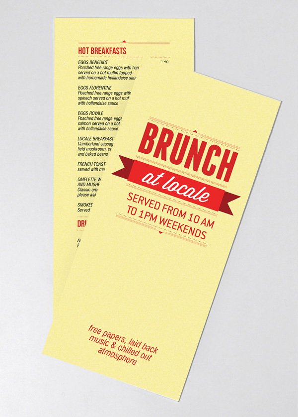 BRUNCH LEAFLET