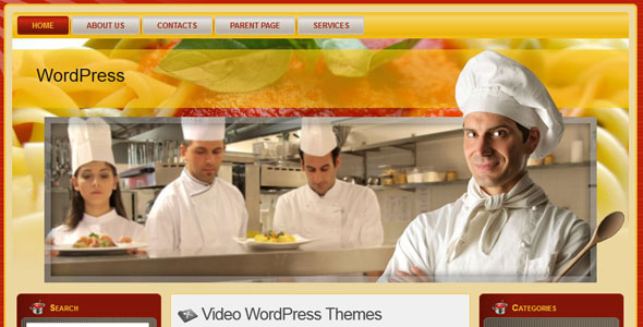 WP-Italian Rest WordPress Themes