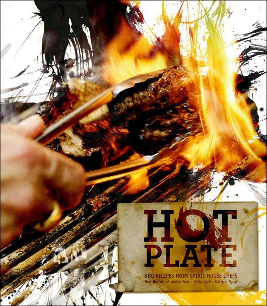 HOT PLATE ñ cooking book design