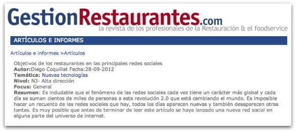 Como los restaurantes deben usar las principales redes sociales