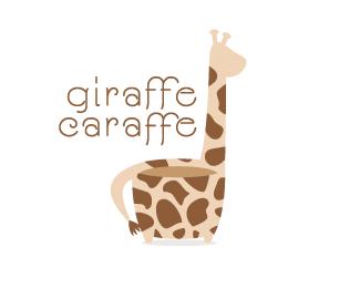 giraffe carafe