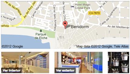 Restaurantes que utilizan Google Business Photos