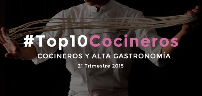 Los mejores cocineros de España en las redes sociales en 2015 [2T2015]